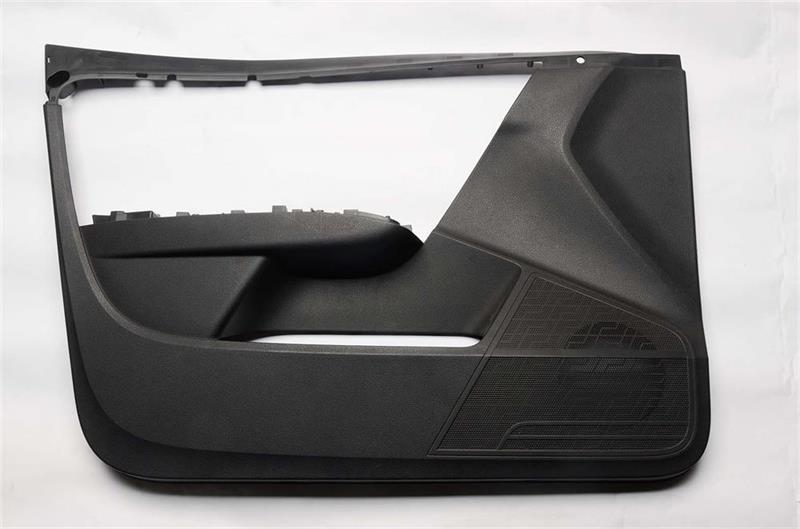 Car door panel mould