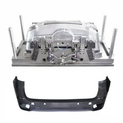 Car plastic back bumper mould